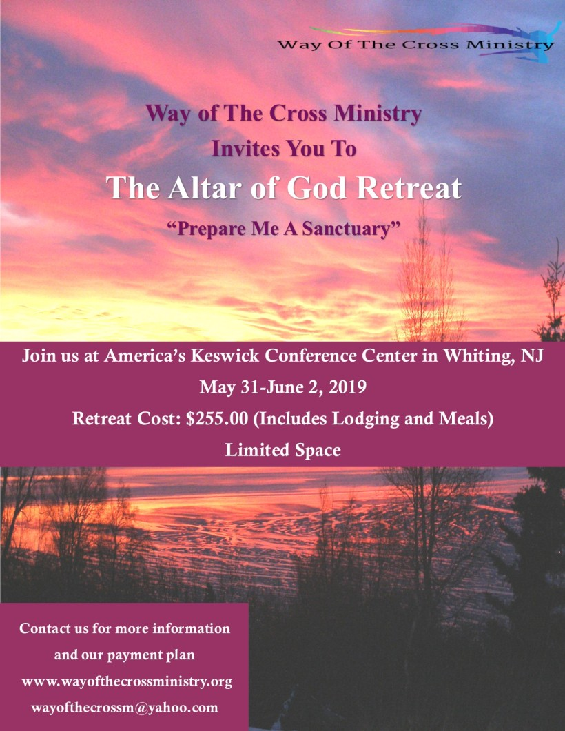 2019 Retreat Altar of God